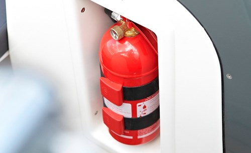 Fire extinguisher, portable